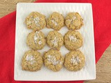 Salted Caramel Oatmeal Cookies #ChristmasCookies