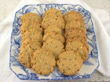 Seeded Peanut Butter Cookies #CrazyIngredientChallenge