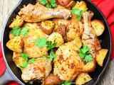 Sheet Pan Baked Dijon Chicken and Potatoes