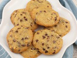 Slice and Bake Chocolate Chip Cookies #SundaySupper