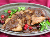 Slow Cooker Cranberry Brisket #CranberryWeek