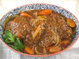 Slow Cooker Swiss Steak for #SundaySupper