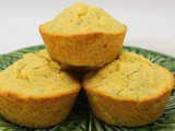 Small Batch Corn Muffins #MuffinMonday