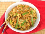 Spicy Chicken Stir-Fry Noodles #FantasticalFoodFight