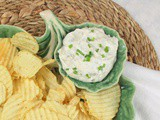 Spicy Garlic Dill Pickle Dip #ImprovCooking