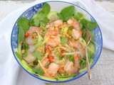 Spicy Thai Shrimp Salad (Yam Goong) #FishFriday