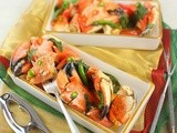 Stone Crab Claws in Red Curry