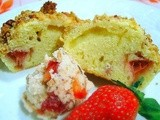 Strawberry Sweetheart Streusel Muffins