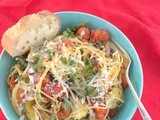 Summer Pasta Primavera #FarmersMarketWeek