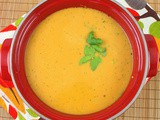 Sweet Potato, Chilli and Coriander Soup #src
