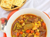 Vegetable Beef Soup #SoupWeek