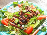 Vietnamese Grilled Steak Salad for #SundaySupper