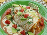 Wet Breakfast Burrito #FoodieExtravaganza