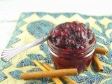 Whole Berry Maple-Bourbon Cranberry Sauce