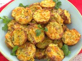 Zucchini Tots with Jalapeno, Cheddar and Bacon #DairyMonth
