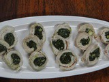 Chicken Roulade with Creamy Spinach