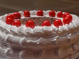 Swiss Black Forest Cake with Moist Chocolate Genoise