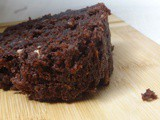 Wholewheat Zucchini Chocolate Cake