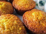 Date and Orange Muffins/ Hurmalı Portakallı Mini Kek