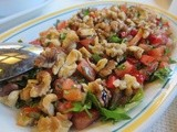 Gavurdağ Salatası - Turkish Tomato Salad with Walnuts & Cumin