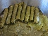 How to Make Stuffed Vine Leaves/Zeytinyağlı Yaprak Sarma in Several Easy Steps