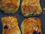 Soğanlı Çıtır Börek or Flaky Filo Pastries with Onion and Parsley