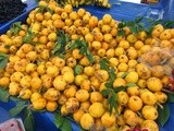 The Joys of being Seasonal in Turkey: loquats/malta eriği and green plums/yeşil eriği