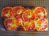 Yogurt Cake with Blood Oranges/Kan Portakallı Yoğurtlu Kek