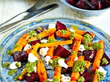 A Taste of Ireland.com: Halloween Liver Detox vegetarian Recipe with Beetroot, Carrots & Ardsallagh Goats Cheese