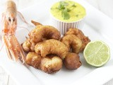 Ballycotton Seafood Langoustine Scampi & and Irish Rapseed oil homemade Aioli