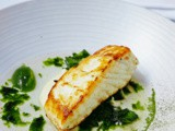 Halibut, Seaweed & Dashi recipe from Bryan McCarthy of Greenes Restaurant Cork plus Microsalads how to grow