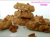 Oatmeal Biscoff Cinnamon Chip Cookies