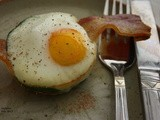 Baked Bacon & Egg