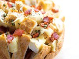 Bacon Brie Pull Apart Bread