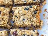 Berry Chia Breakfast Bars