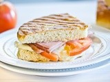 Ham and Mozzarella Panini