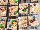No Bake Monster Bars
