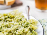 Spinach Pesto Farfalle
