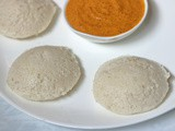 Idli with Rice Rava or Idli Rava (With Tips to Make Perfect Idli Batter)