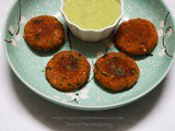 Low-Oil Soya Tikki: High-Protein Snack (No Onion, No Garlic Recipe)