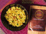 Poha Chivda with sprig Tangier: Mediterranean Spice Blend