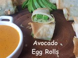 Cheesecake Factory(Copycat) Vegan Avocado Egg Rolls- Air Fryer Appetizers
