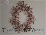 Diy: Toilet Paper Roll Wreath