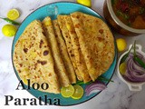 Easy to Make Aloo Paratha with Tips & Tricks | How to Make a soy-free, no onion no garlic, nut-free and vegan Instant Pot Aloo Paratha