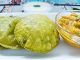 Green Peas Masala Puri: Tasty Breakfast Recipe