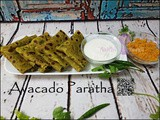 Healthy Lunch Box Recipe: Avacado Paratha