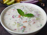 Indian Raita: a Perfect, Cooling and Refreshing Condiment for Biryanis, Pulao and Rice Dishes | Cucumber-Yogurt Raita(Salad)