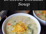 Instant Pot Broccoli Cheddar Soup(Panera Copycat) How to Make Panera Style Broccoli Cheddar Soup
