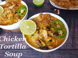 Instant Pot Chicken Tortilla Soup | Easy Instant Pot Recipes | Best Chicken Tortilla Soup