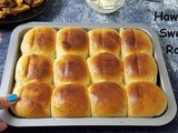 Instant Pot Eggless Hawaiian Sweet Rolls